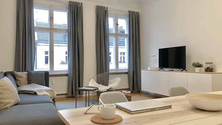 3 room apartment in Berlin - Schöneberg, furnished