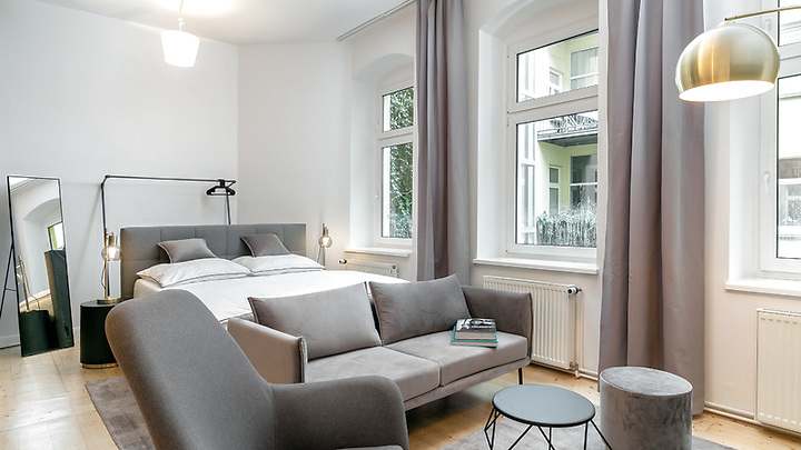 1 room apartment in Berlin - Mitte, furnished