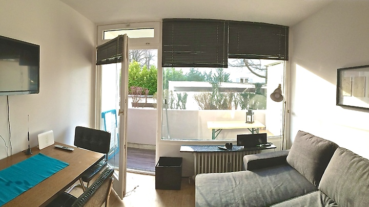 1 room apartment in München, furnished