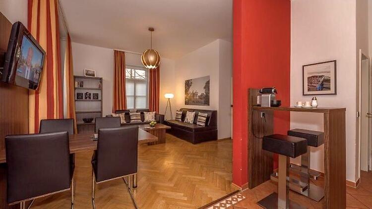 3 Zimmer Wohnung In München Westend Möbliert Nr 6197