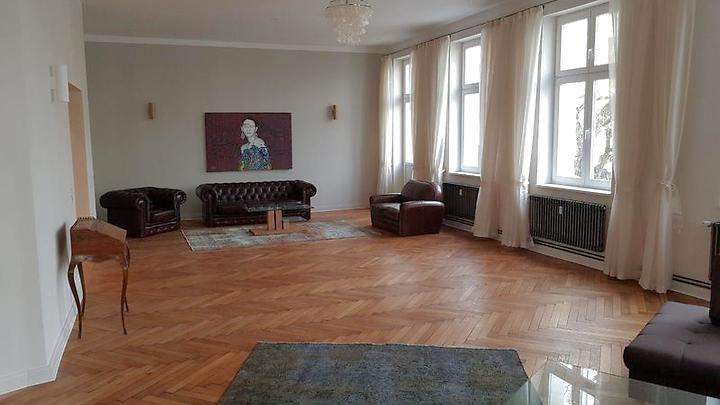 5 Room Apartment In Berlin   Wilmersdorf, Furnished, Temporary