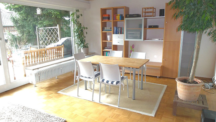 Separate 1-room apartment in Nürtingen, furnished, temporary