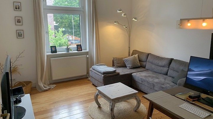 2 room apartment in Frankfurt a.M., furnished, temporary