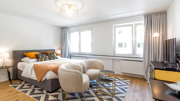 1 room apartment in Köln - Innenstadt, furnished