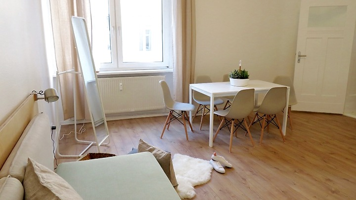 2 room apartment in Berlin - Kreuzberg, furnished