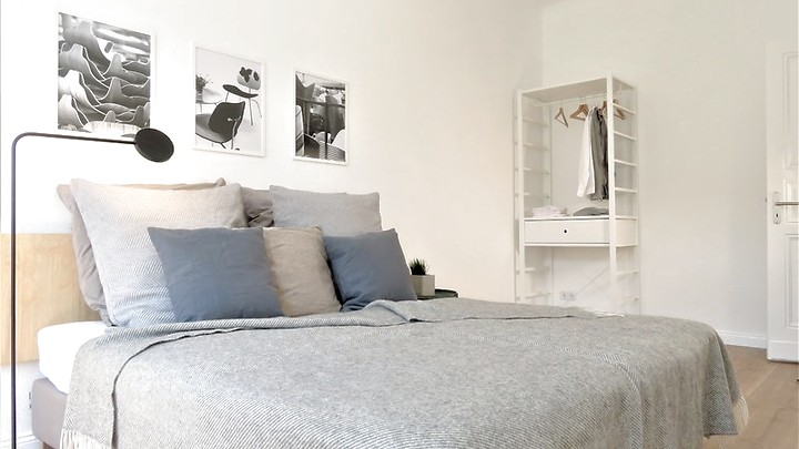 2 room apartment in Berlin - Wedding, furnished