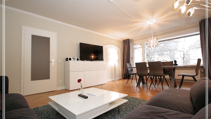 3½ room apartment in Hamburg - Eilbek, furnished