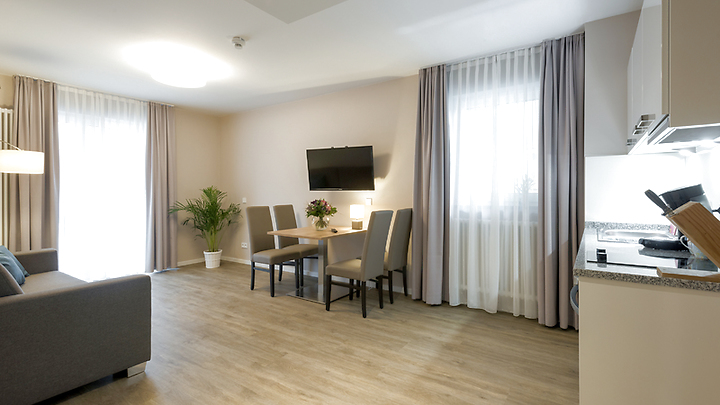 2 room Business Apartment in München - Ramersdorf, furnished, temporary