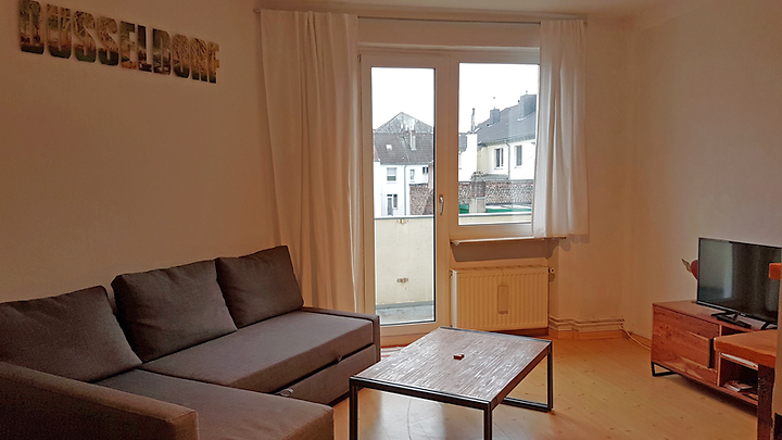 2 room apartment in Düsseldorf - Stadtmitte, furnished