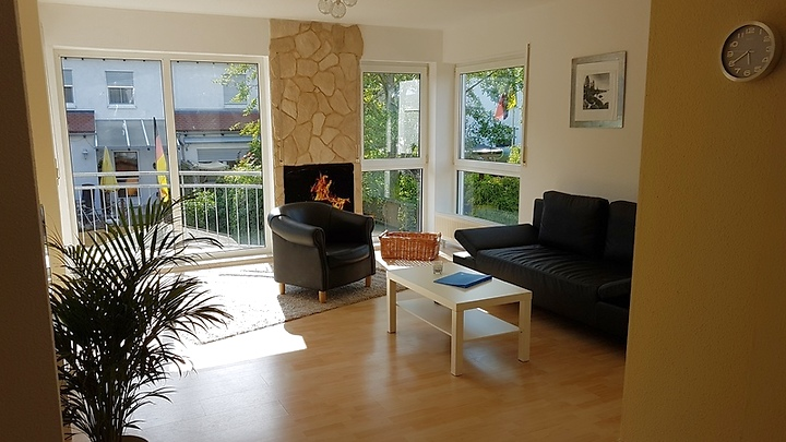 2 room apartment in Trebur, furnished