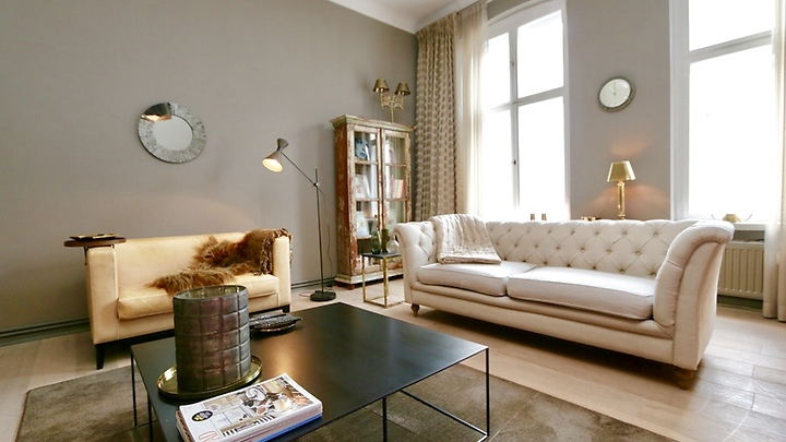 2 room apartment in Berlin - Mitte, furnished