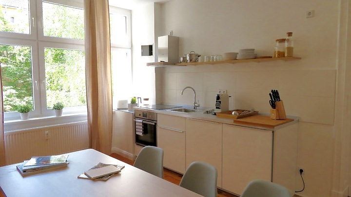 3 room apartment in Berlin - Wedding, furnished