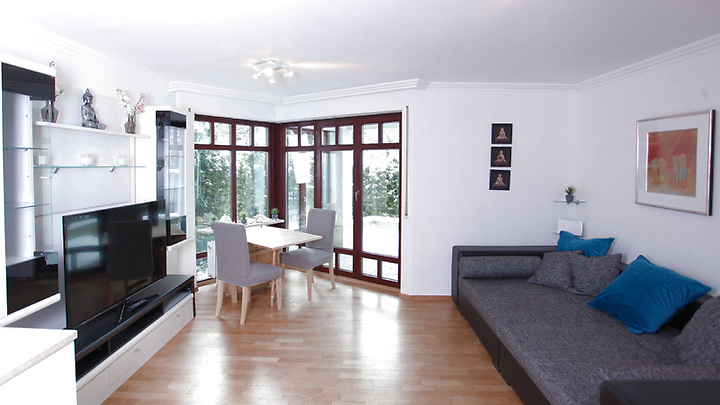4 room apartment in München - Harlaching, furnished